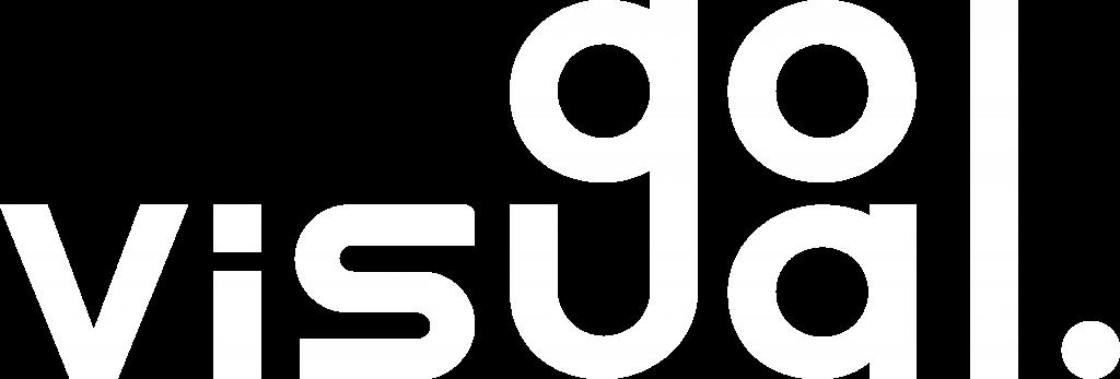 Go Visual - company logo white