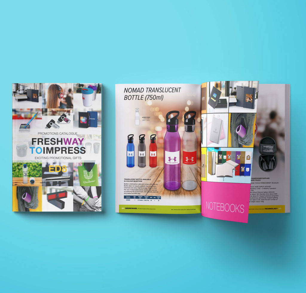Commissioned for Dublin based company - over 400 products on 228 pages